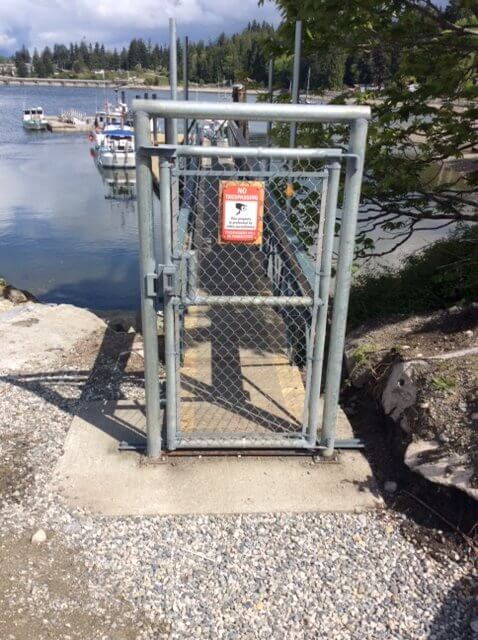 Gate to Floating Ramp