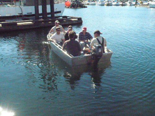 Six Men in a boat Take 2
