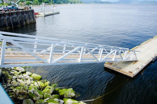 Floating Ramp, Gibsons BC